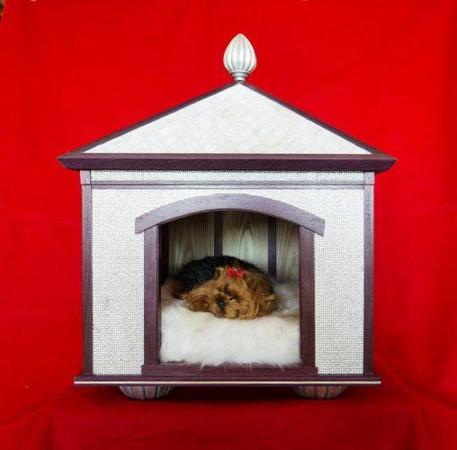 crystal dog house